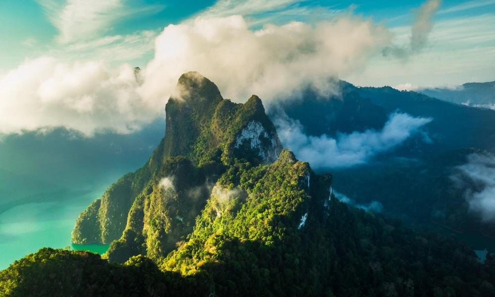 Однодневный тур на озеро Чео Лан в национальном парке Као Сок, остров Самуи, Таиланд