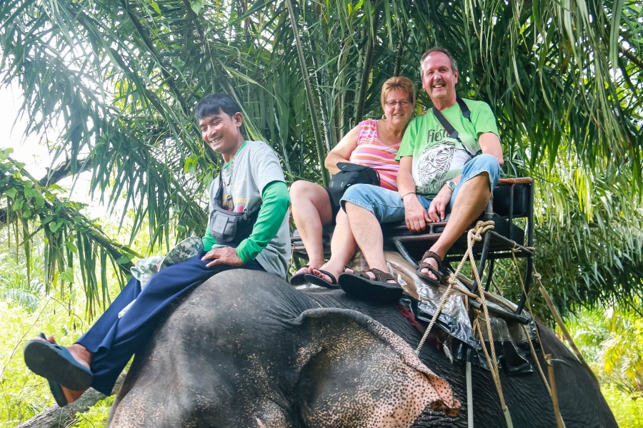 Живой Самуи — тур на семейную Эко-ферму слонов, остров Самуи, Таиланд