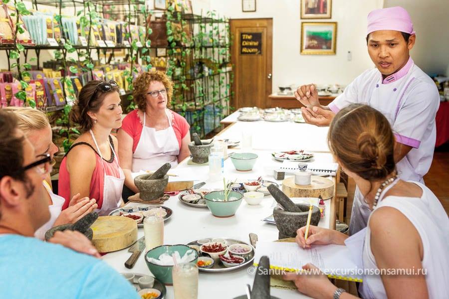 Кулинарные курсы SITCA, остров Самуи, Таиланд