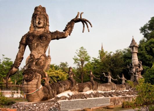 Будда-парк Sala Keoku, Таиланад