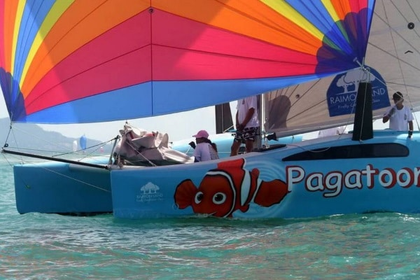 Парусный катамаран Ti'Punch, остров Самуи, Таиланд