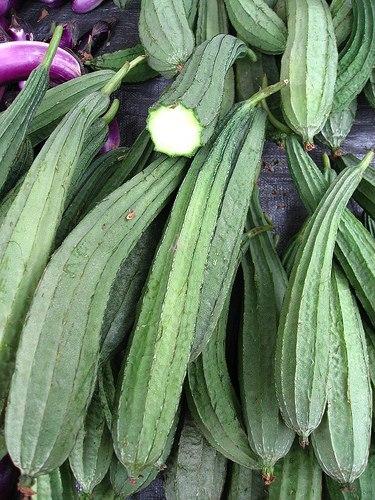 Люффа - природная мочалка, которую в Таиланде едят