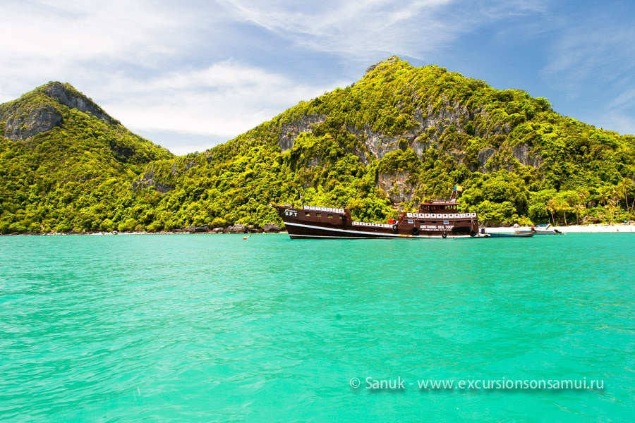 Тур в морской парк Ангтонг на скоростном катере, остров Самуи, Таиланд