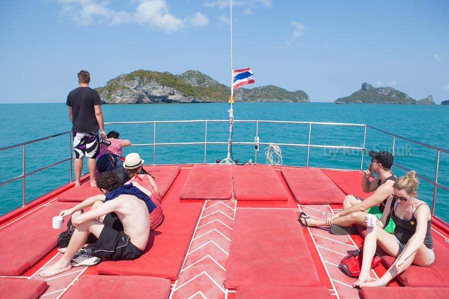 Тур в морской парк Ангтонг на тайском кораблике, остров Самуи, Таиланд