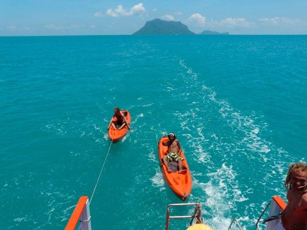 Трехдневный круиз в Ангтонг на традиционной тайской лодке, остров Самуи, Таиланд
