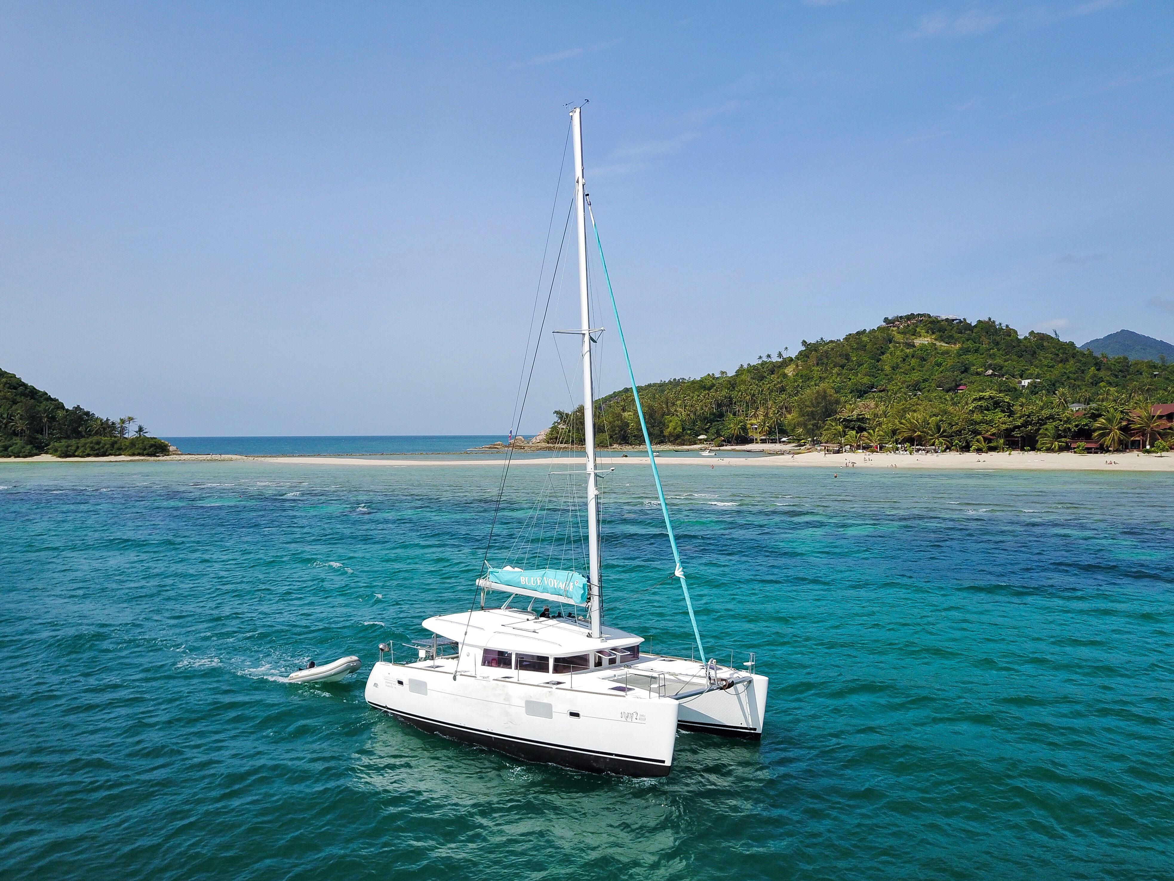 Парусный катамаран «Blue Coco», остров Самуи, Таиланд