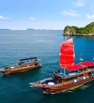 Яхты Голубой и Красный Дракон, о. Самуи