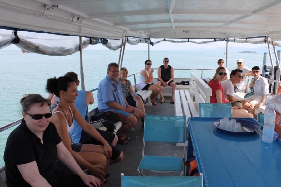 Круиз на кораблике вокруг Самуи, остров Самуи, Таиланд