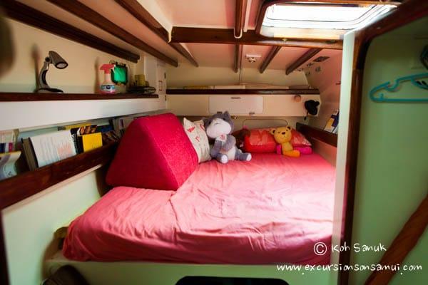 Парусный катамаран «Vickey», остров Самуи, Таиланд