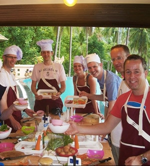 "Кулинарные курсы на о. Самуи ""Chanita cooking classes"""