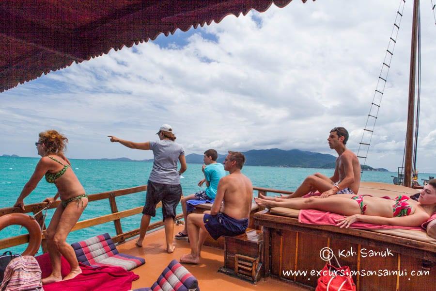 Круизы на паруснике «Чантара», остров Самуи, Таиланд