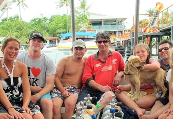 Дайвинг-туры с Самуи на скоростном катере, остров Самуи, Таиланд