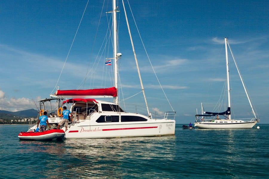 Круизы на парусном катамаране «Dreamcatcher», остров Самуи, Таиланд