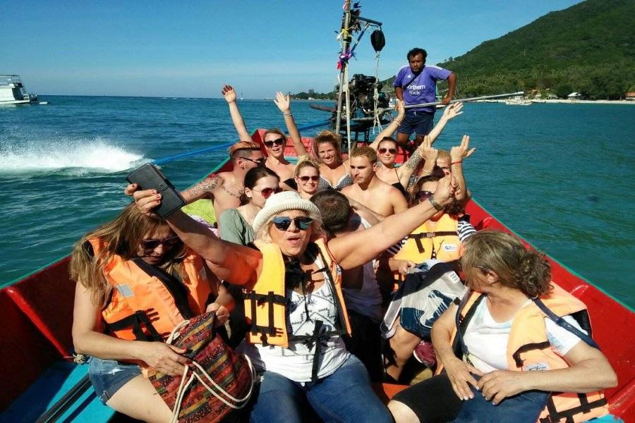 Все в одном — на суше и на море с Пангана, остров Самуи, Таиланд