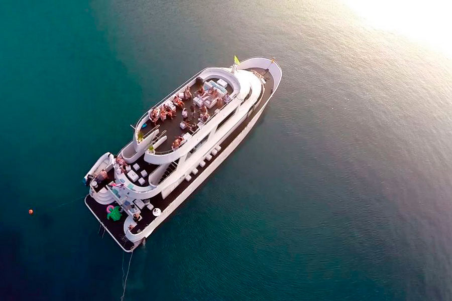Яхта Escape, остров Самуи, Таиланд