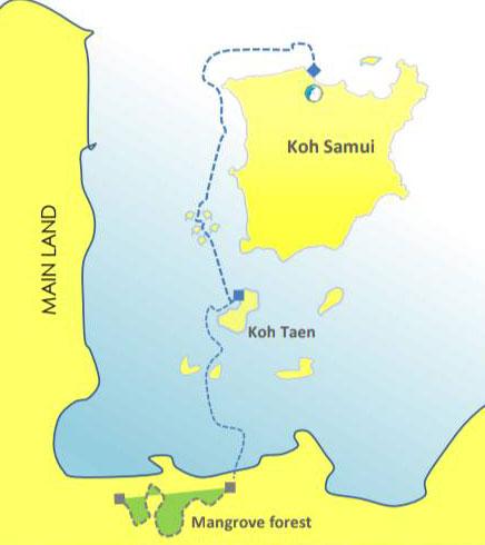 Explore jet ski safari, Koh Samui