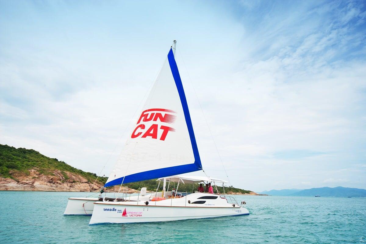 Круизы на парусном катамаране Fun Cat, остров Самуи, Таиланд