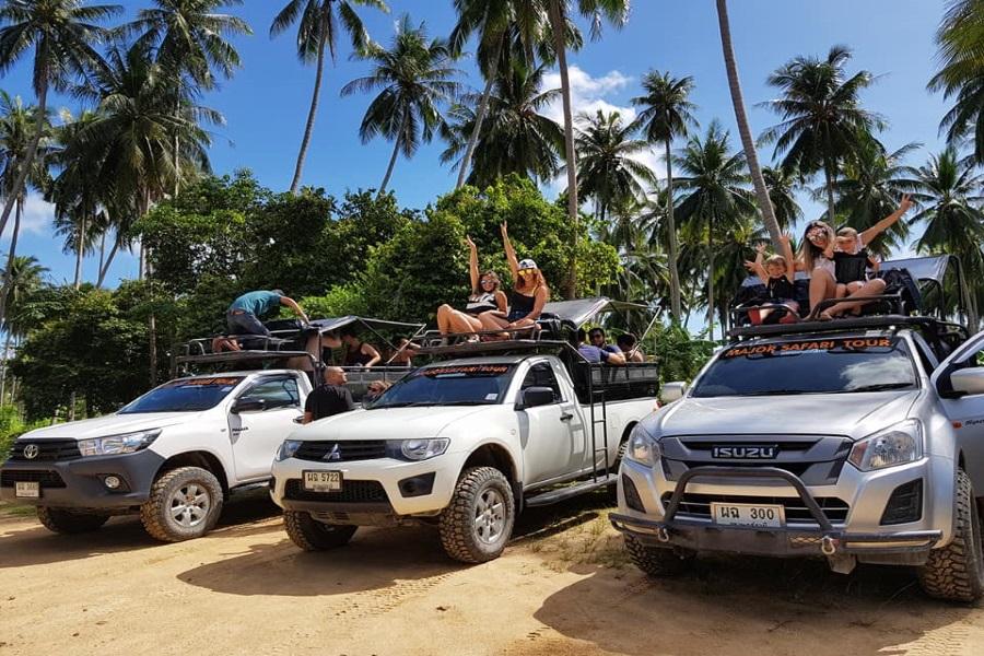 Джип-сафари на целый день без животных в неволе, остров Самуи, Таиланд