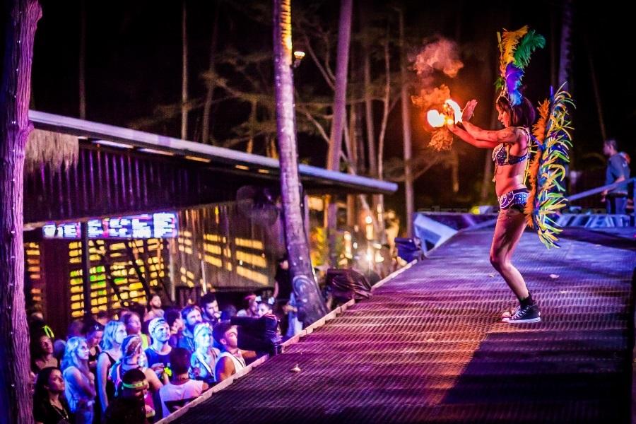 Вечеринки на Пангане: Full Moon, Half Moon, Black Moon, Jungle Experience, остров Самуи, Таиланд