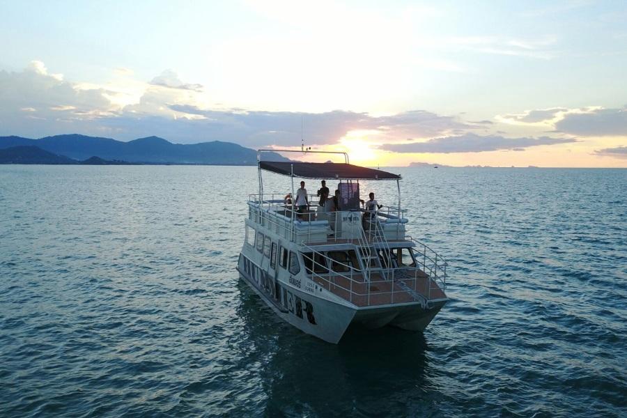 Катамаран «Hummer», остров Самуи, Таиланд