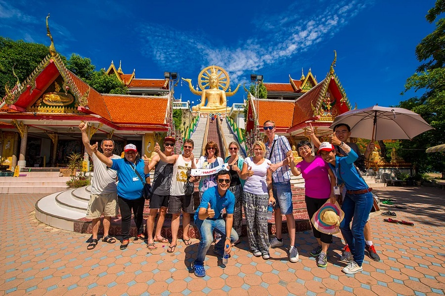 Обзорная экскурсия по острову Самуи на минибасе, остров Самуи, Таиланд