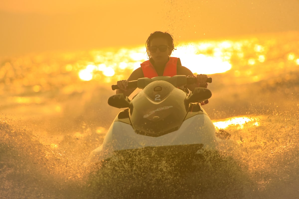 Cафари на гидроциклах, остров Самуи, Таиланд