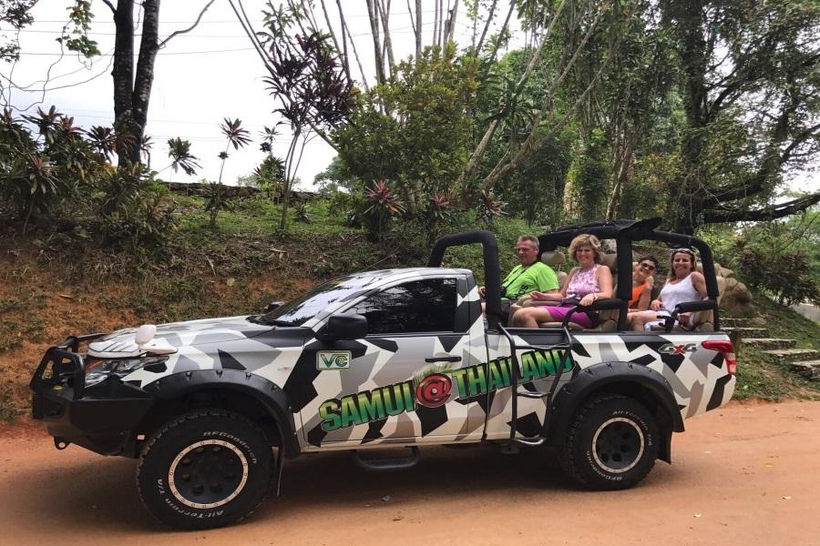Эксклюзивное сафари по острову, остров Самуи, Таиланд