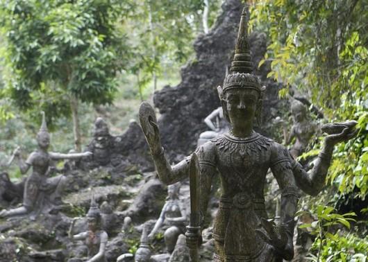магический сад, бог войны