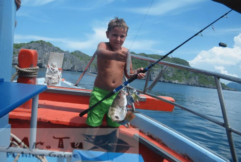 Рыбалка Mr. Tu, остров Самуи, Таиланд