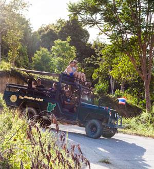 Джип-сафари Mr. Ung's safari