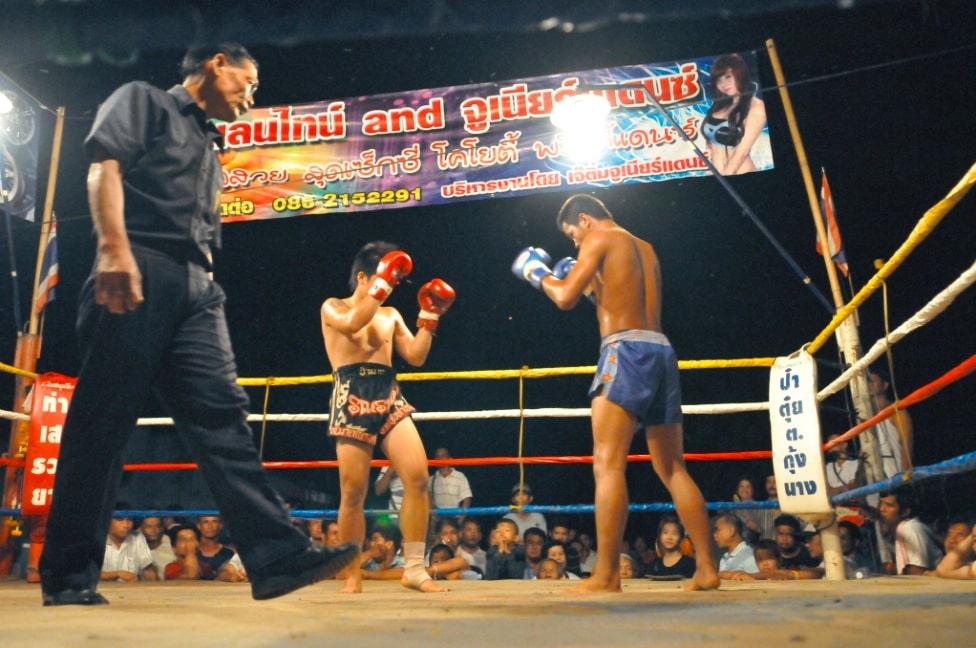 Тайский бокс «Муай тай», остров Самуи, Таиланд