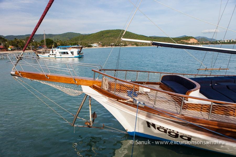 Круиз на бутик-яхте «Нага» в морской парк Ангтонг, остров Самуи, Таиланд