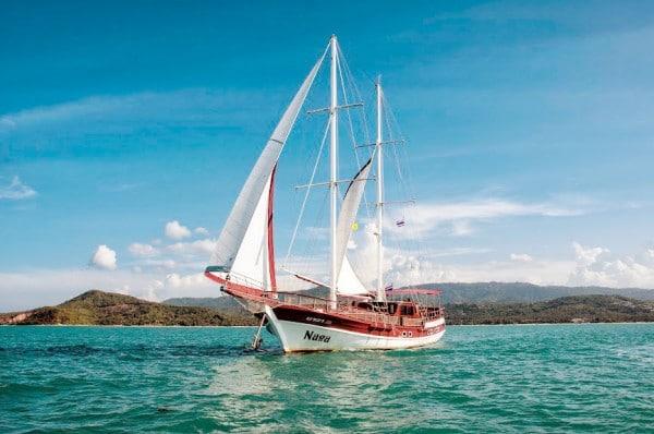 Яхта  Нага, о. Самуи (Naga yaht, Koh Samui)