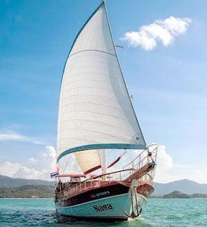 """Дневной круиз вокруг о. Самуи, яхта """"Naga"""""""