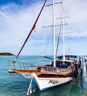 Яхта Naga, о. Самуи