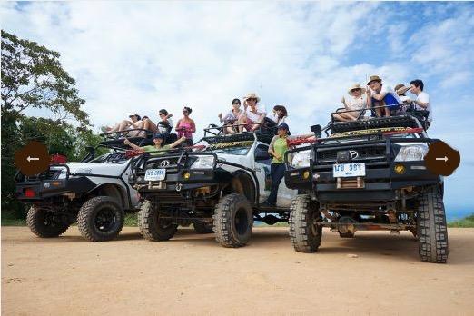 Джип-сафари Намуанг парка