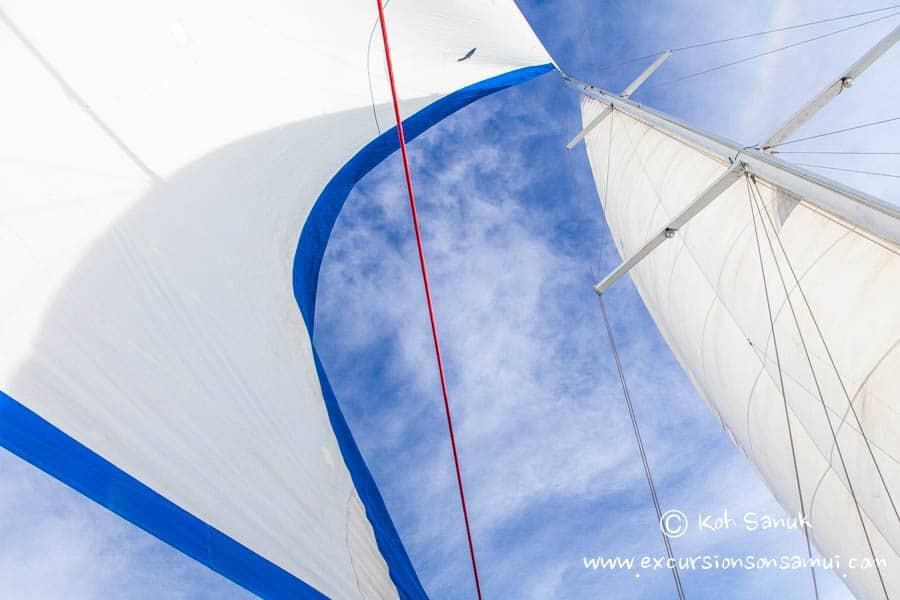 Круиз вокруг о. Самуи на парусной яхте «Baidee», остров Самуи, Таиланд