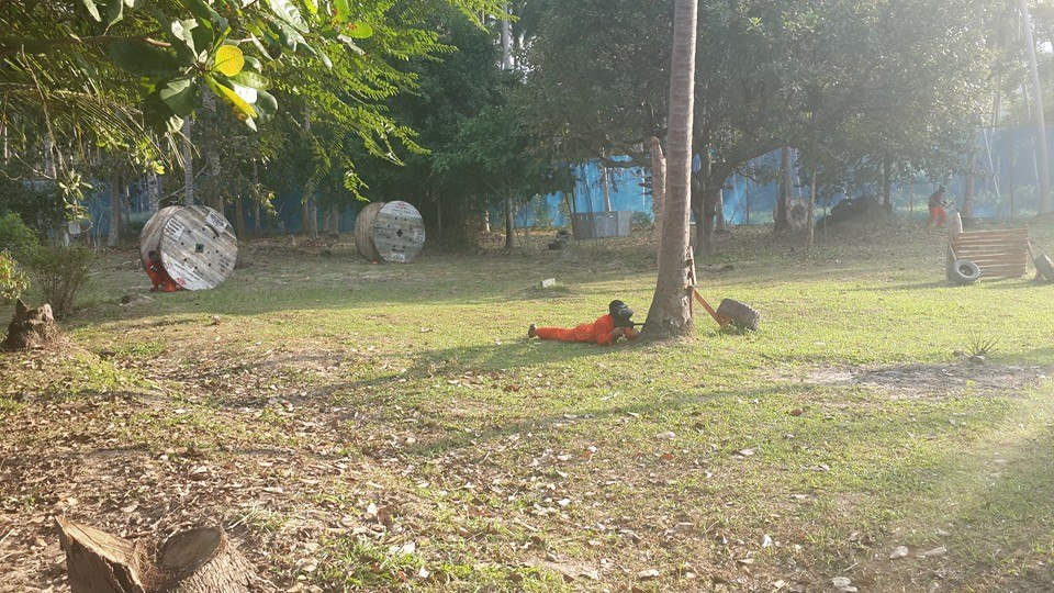 Пейнтбол, остров Самуи, Таиланд