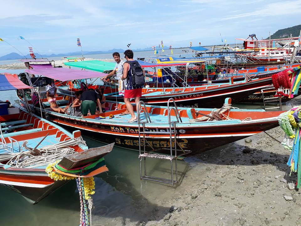Приватный эконом-круиз на лонгтейле на острова Тан, Мадсум, Пять Сестер, остров Самуи, Таиланд