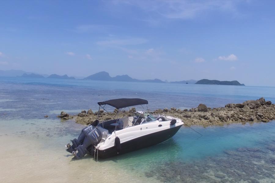 Приватные круизы на скоростном катере Hurricane 27, остров Самуи, Таиланд