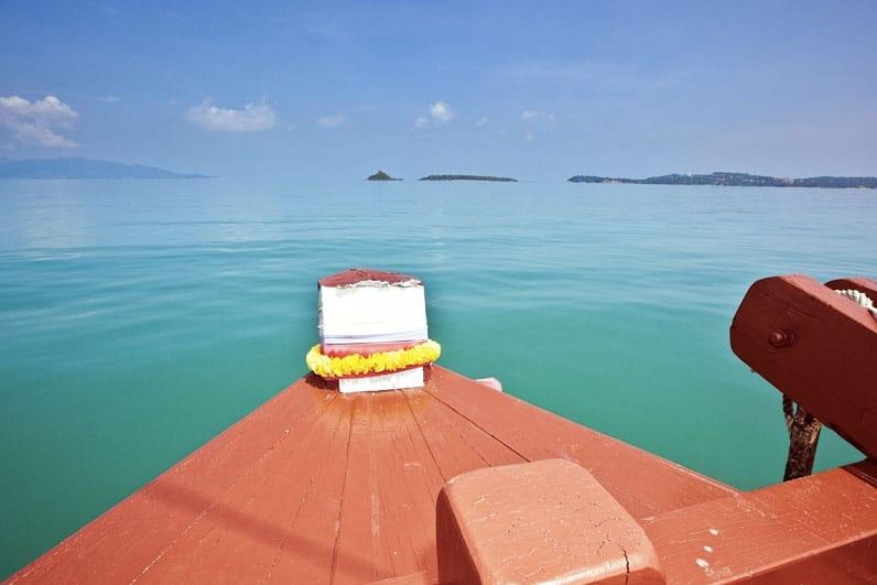 Круизы на старинном паруснике «Красный барон», остров Самуи, Таиланд
