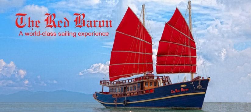 Туры на яхте Красный Барон, о. Самуи