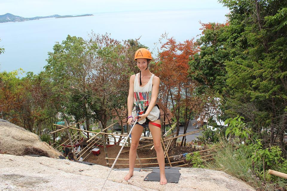 Скалолазание, остров Самуи, Таиланд