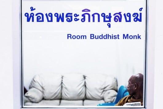Комната для монахов в Таиланде