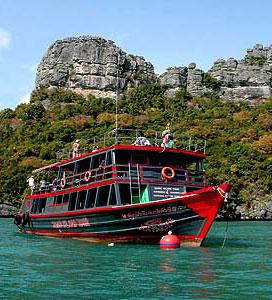 Лодка Samui Island Tour