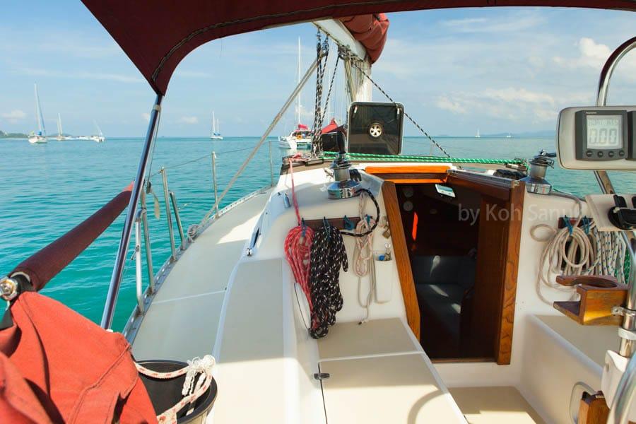 Круизы на парусной яхте «Санора», остров Самуи, Таиланд