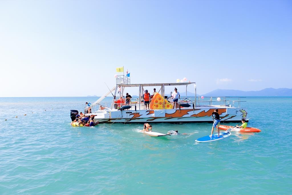 Катамаран Seahorse, остров Самуи, Таиланд