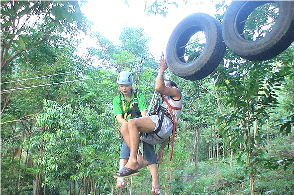 Подвесная канатная дорога, остров Самуи, Таиланд