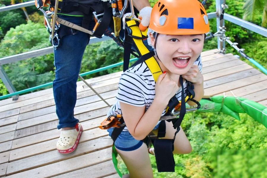 Skyhawk — лучшая канатная дорога на Самуи!, остров Самуи, Таиланд