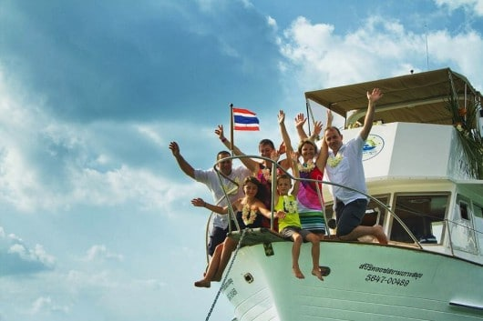Яхты для туров всей семьей на о. Самуи